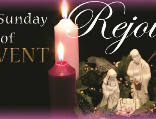 Advent 3- Gaudate Sunday