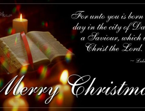 A Blessed Christmas to all