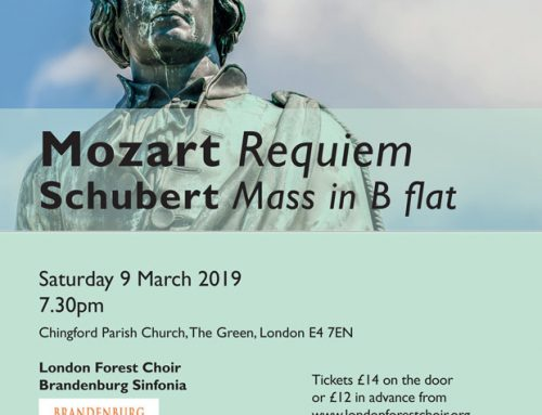 LONDON FOREST CHOIR CONCERT