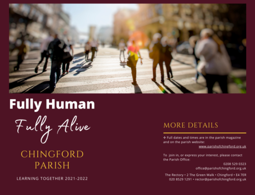 Fully Human, Fully Alive – the Parish of Chingford Education programme